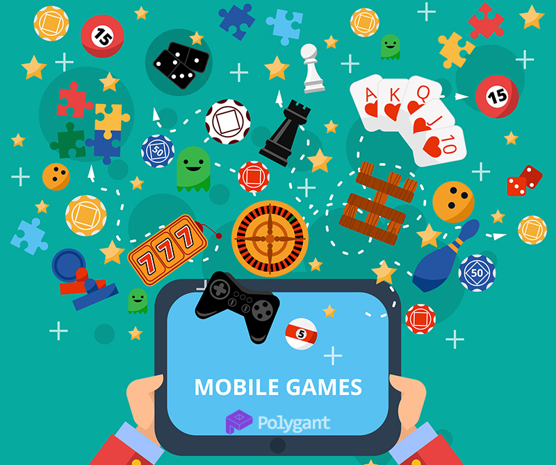 Development of mobile games