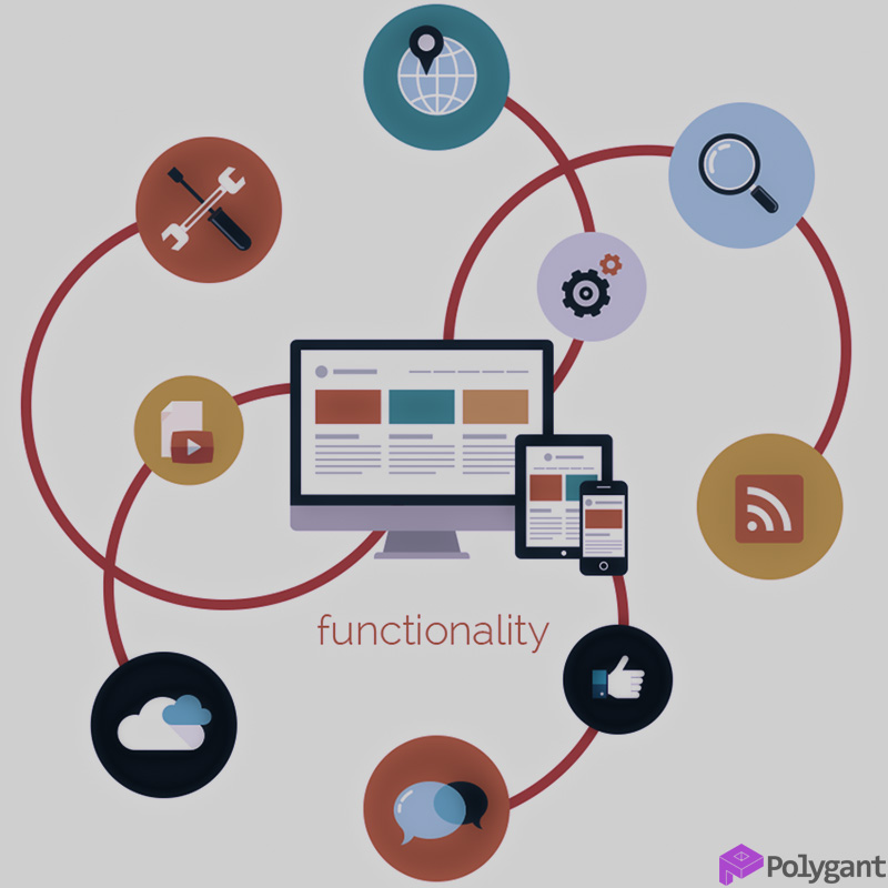 Функциональность веб-приложения
