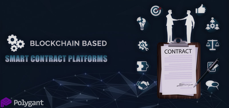Blockchain platforms with smart contracts