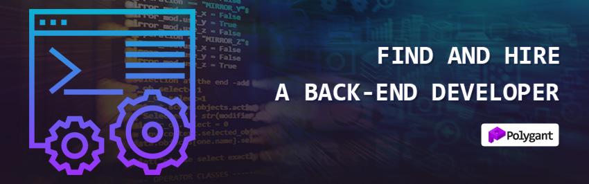 Find and hire a back-end developer