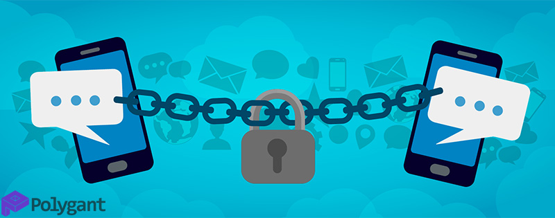 Principle of operation of secure and classic messaging apps