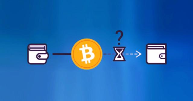 если биткоин-транзакция зависла