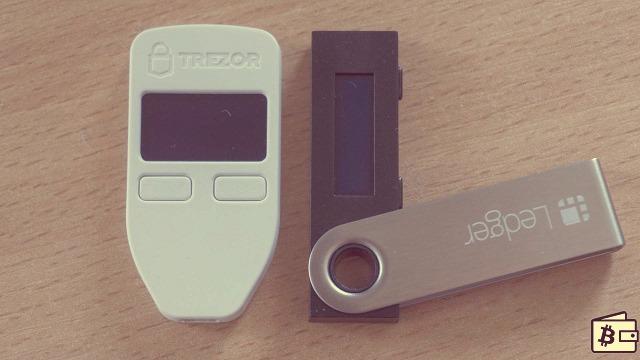 кошельки Trezor и Ledger Nano S