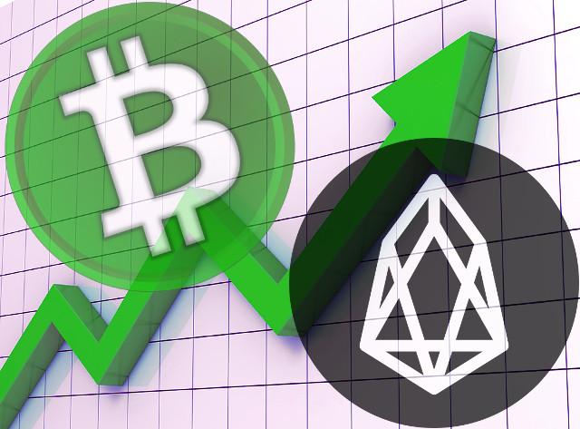 рост Bitcoin Cash и EOS