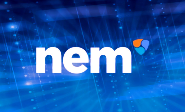 Cryptocurrency NEM with a high transaction rate